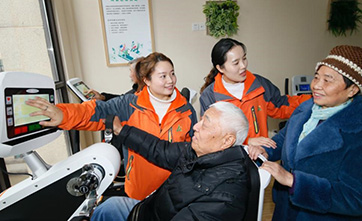 Elderly care services get smarter in China