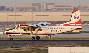 China's Y-12F aircraft completes geo-prospecting flight tests
