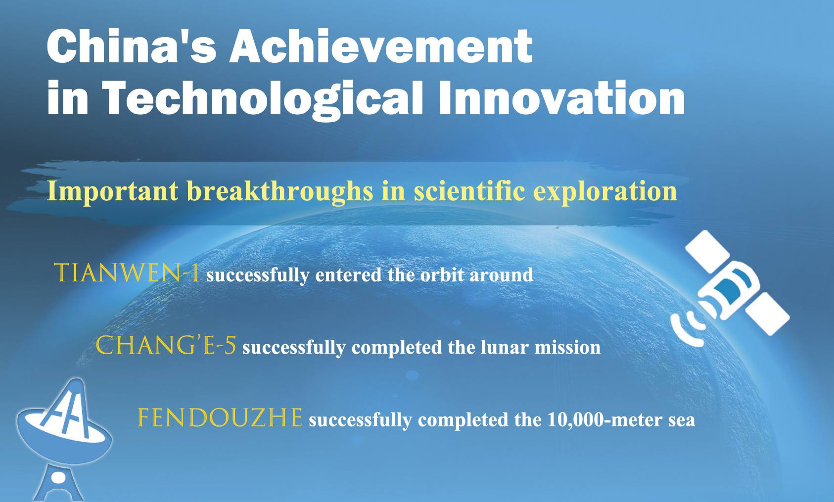 China's achievement in technological innovation