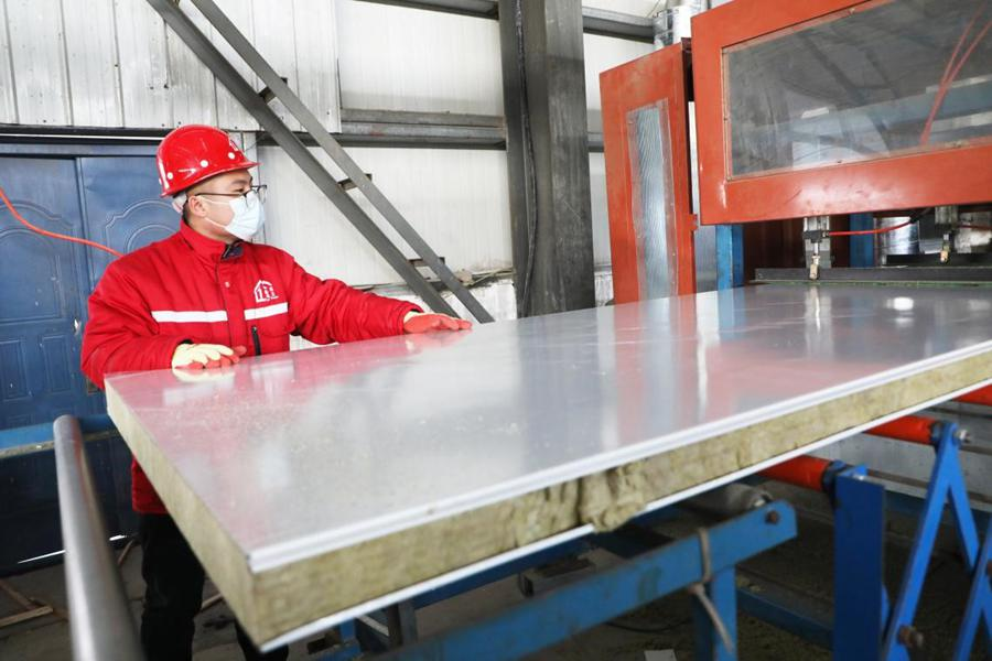 China sees rapid development of prefabricated construction