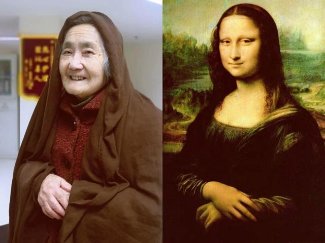 Chinese senior citizens become online hit with recreations of world renowned portrait figures