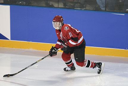 February 2002, xix olympic winter games: hayley wickenheiser of canada