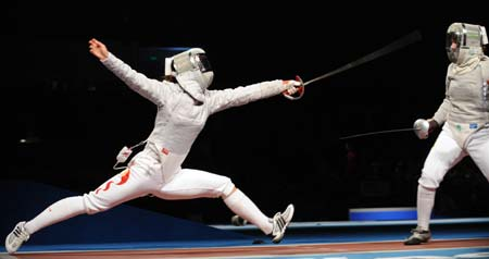 Tan Xue fails to enter top 4 in women\'s sabre individual