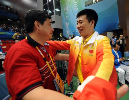 China\'s Pang Wei wins second gold for China