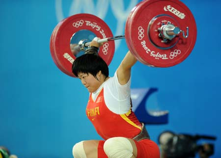 Weightlifting roundup: China wins sixth title, loses seveth