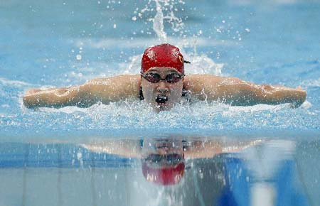 China\'s Liu wins Olympic women\'s 200m butterfly gold in world record time