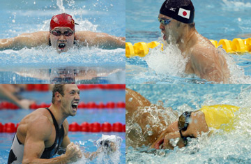 Four swimming gold medals unveiled in Day 6