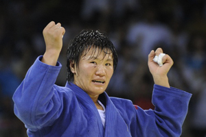 China\'s Yang wins women\'s 78kg judo gold at Beijing Olympics