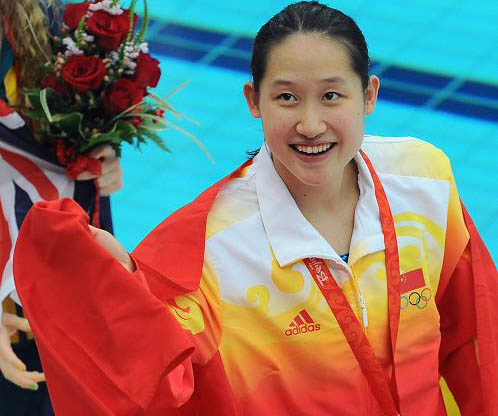 Liu Zige wins China\'s first swimming gold
