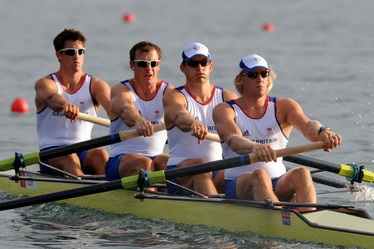 Britain crowned in Olympic rowing event of men\'s four