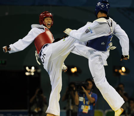 Son Tae-jin wins ROK 2nd taekwondo gold