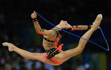 Gymnastics rhythmic: feast for your eyes