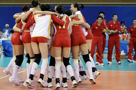 Bronze Medal Restores Confidence Of Chinas Women Volleyballers