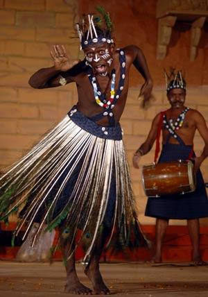 a folk dance
