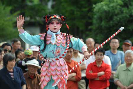 Chinese Celebrate Labor Day