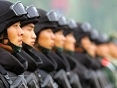 Armed policemen mobilized to protect National Day parade