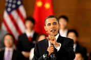 "Obama welcomes China as a ""strong, prosperous and successful"" nation"