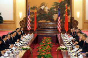 Hu holds official talks with Obama on bilateral ties