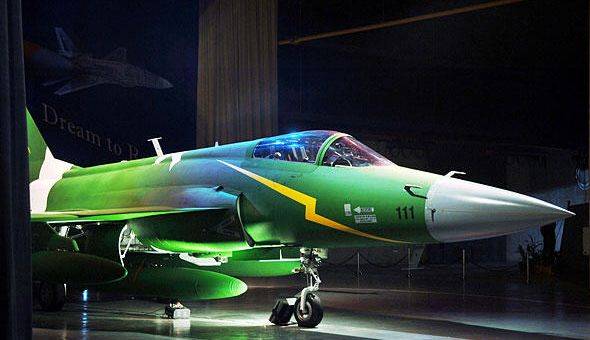 First Xiaolong fighter made in Pakistan