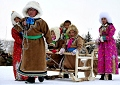 Ujimqin grassland ice and snow carnival opens in N China