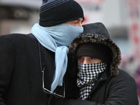 Heavy coats, tight mufflers: cold wave sweeps NYC