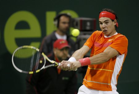 Nadal advances in Qatar Open after beating Bolelli