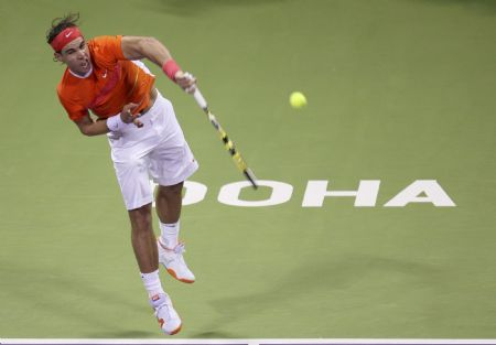 Nadal advances at ATP Qatar Open