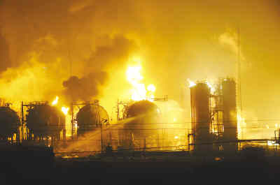 Chemical plant explosion kills two in NW China