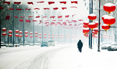 China expects fresh strong cold snap