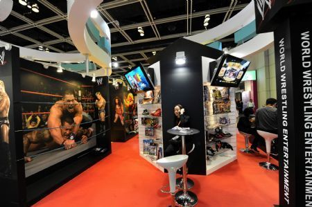 Hong Kong Int'l Licensing Show opens