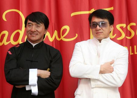 Wax figure of Jackie Chan unveiled in LA