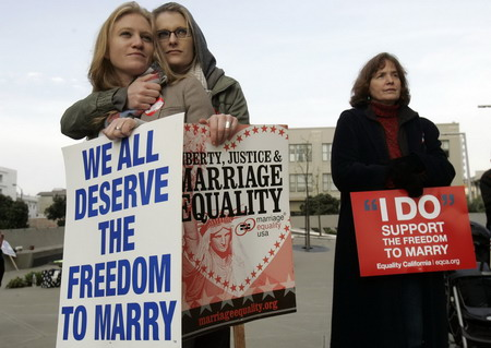 California gays in marriage case cite status woes