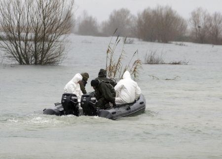 Heavy floods sweep NW Albania