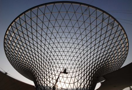 Shanghai World EXPO Garden finishes 90% of construction