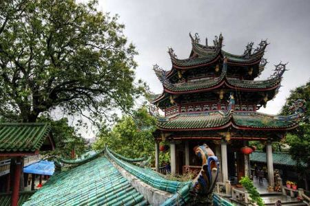 Enchanting Scenery of South Putuo Temple