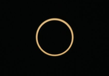 Century's longest annular solar eclipse