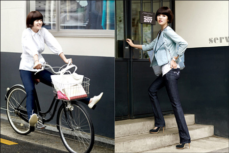Song Hye Kyo, Levi's lady style