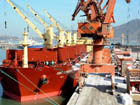 Lianyungang Port's unloading volume of imported alumina tops the nation
