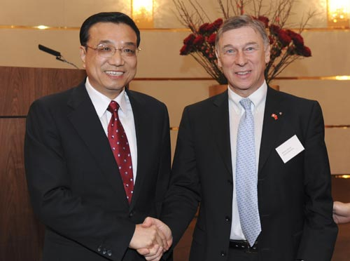 Chinese vice premier calls for closer economic ties with Switzerland