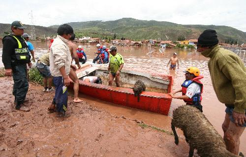 Torrential rains and mudslides wreaks havoc in Peru