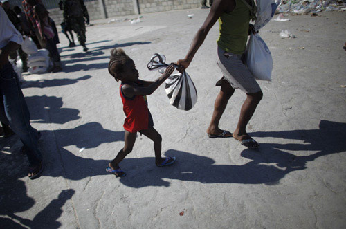 Children,women most endangered by post-quake chaos in Haiti
