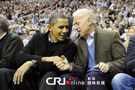 Obama, Biden attend Georgetown-Duke basketball game