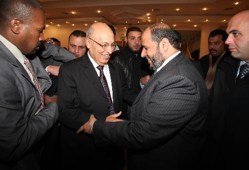 Fatah's Shaath hold talks with senior Hamas leaders in Gaza