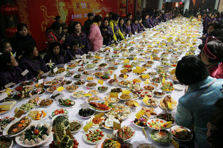 A feast fit for Spring Festival
