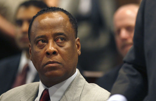 Conrad Murray's arraignment starts