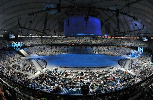 Opening ceremony of Vancouver Winter Olympic Games starts