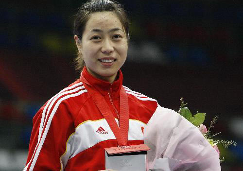 China's Bao takes gold at fencing Grand Prix Moscow leg
