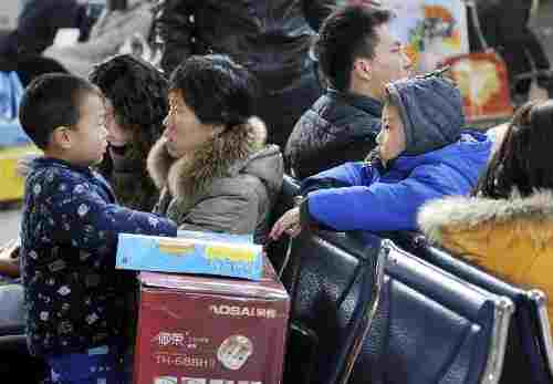 E China meets post-Spring Festival travel peak