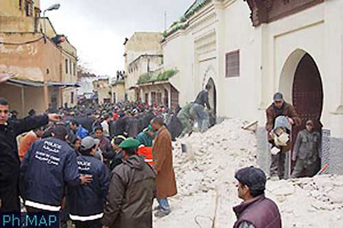Death toll from Morocco mosque collapse rises to 25