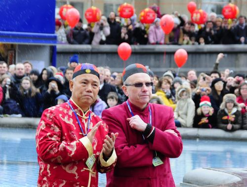 Grand Chinese Lunar New Year celebrations held in London